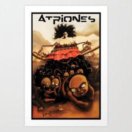 Atriones: Afiche Art Print