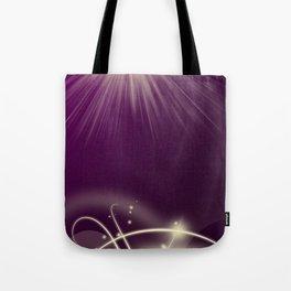 purple pattern Tote Bag