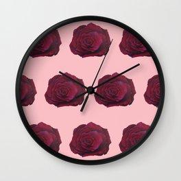 I'm Feeling Rosy Wall Clock