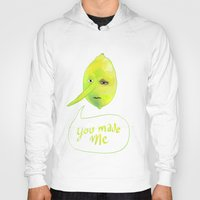 lemongrab Hoodies featuring You Made Me by narciscyst