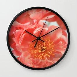 Paeonia #6 Wall Clock