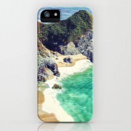 McWay Falls Big Sur California iPhone Case