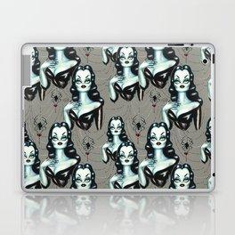 Vampire Vixen with Black Widow Spider Laptop & iPad Skin