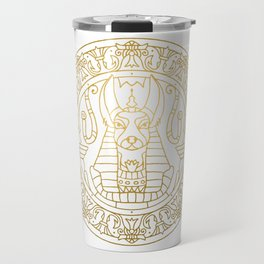 Anubis Mandala – Egypt Travel Mug