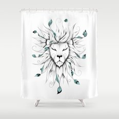 Poetic King Shower Curtain