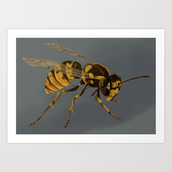 little wasp  Art Print