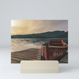 Lake Bled, Slovenia Mini Art Print