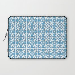 Scrolling blue Laptop Sleeve