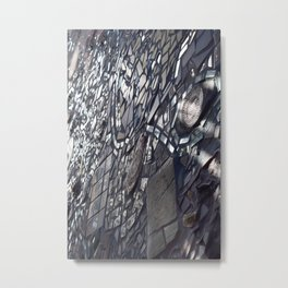 Look Into the Mirror Metal Print