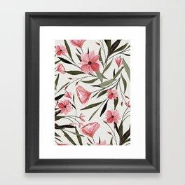 flowers 74 Framed Art Print