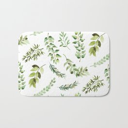 Forest in the Fall Bath Mat