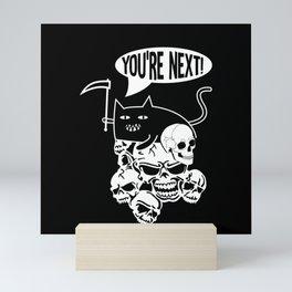 The Furry Reaper Mini Art Print
