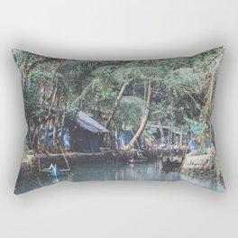 Cochin, India II Rectangular Pillow