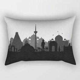 City Skylines: Delhi Rectangular Pillow