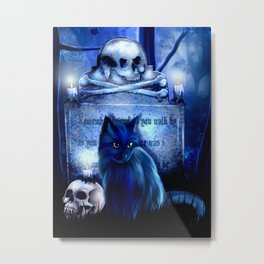 Salems Guardian Metal Print