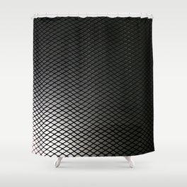 Light Grid Shower Curtain