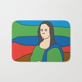 Ooh Zoo – art-series, da Vinci Bath Mat