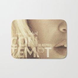 Brigitte Bardot, Contempt, movie poster, Le Mépris, Jean-Luc Godard, Fritz Lang, Bath Mat