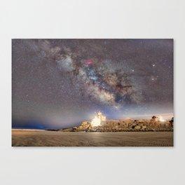 Good Harbor Beach Milkyway 4-4-16 Canvas Print