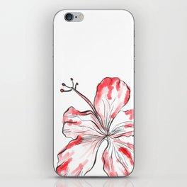 Hibiscus Flower iPhone Skin