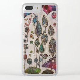 Behind the Veil Clear iPhone Case