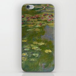 "Claude Monet ""Water Lilies"" (15a) iPhone Skin"