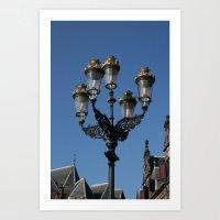 lantern Art Prints featuring Lantern by constarlation