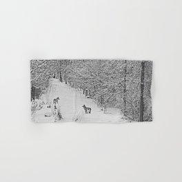 Coyotes Art Decor. Hand & Bath Towel