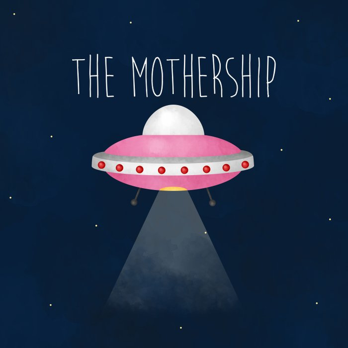 The Mothership Duvet Cover