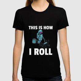 Astronaut Spaceman Space Galaxy T-shirt