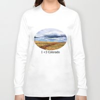 feet Long Sleeve T-shirts featuring 13,000 Feet by Chris Root