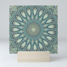 Eye of the Needle Mandala Art Mini Art Print