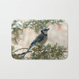 Look to the Sky (Blue Jay) Bath Mat