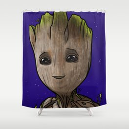 baby guardian Shower Curtain
