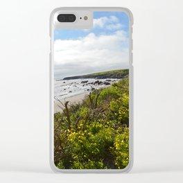 California Gold Clear iPhone Case