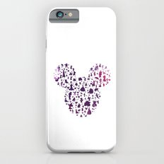 mickey ears silhouette  iPhone 6s Slim Case