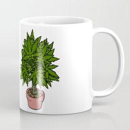 Blushing Cannabis Coffee Mug