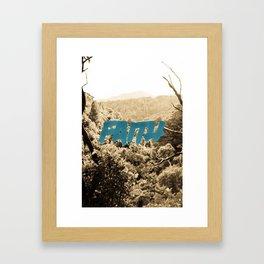 Faith. Framed Art Print