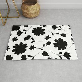 GRAPHIC FLORAL Rug