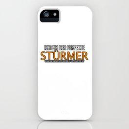 Forward Linesman Drinking Striker iPhone Case