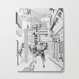 Dorohedoro Metal Print