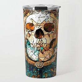 Old Skull Travel Mug