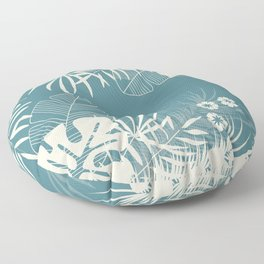 Tropical pattern 047 Floor Pillow