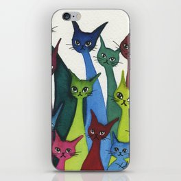 Coronado Whimsical Cats iPhone Skin