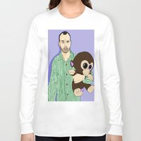 murray Long Sleeve T-shirts featuring James Murray Impractical Jokers  by Lord Gloria