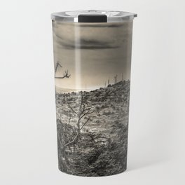 Guayaquil Outskirts Aerial View from Botanical Garden Travel Mug