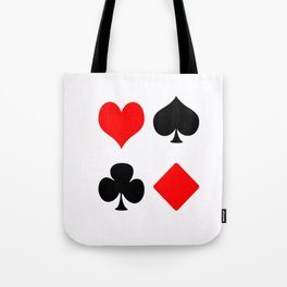 poker card figures Tote Bag