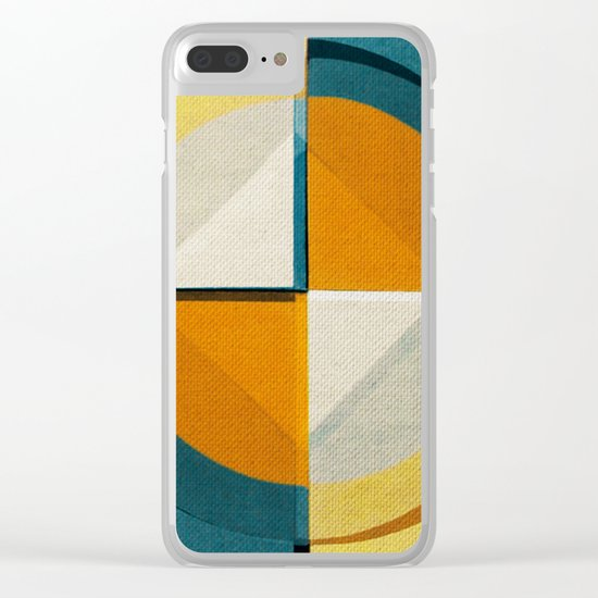 1/4 hour Clear iPhone Case