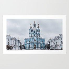 Saint Petersburg Russia Art Print