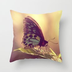 Butterfly 02 Throw Pillow